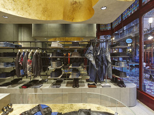 Deisel Boutique interior