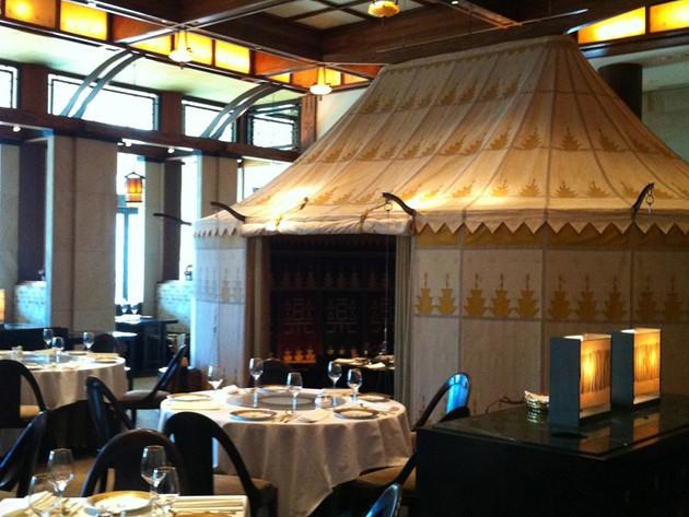 Silks Installation Crown Casino