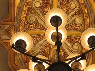 Classic Art Deco dome