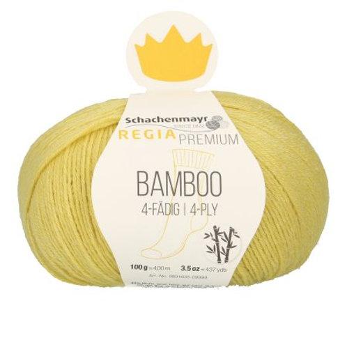 Bamboo 4-fädig yellow green