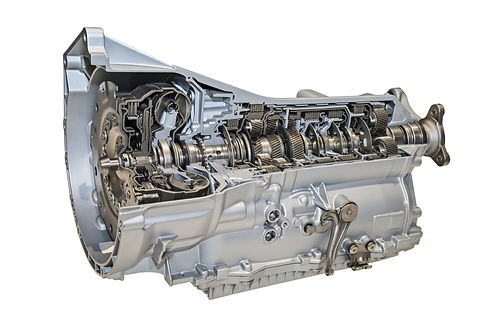 Modern 8-speed automatic transmission fo