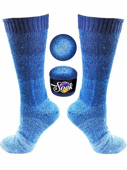 Painted Sock 101 Aruba Blues