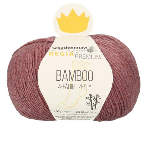 Bamboo 4-fädig 83 brown red