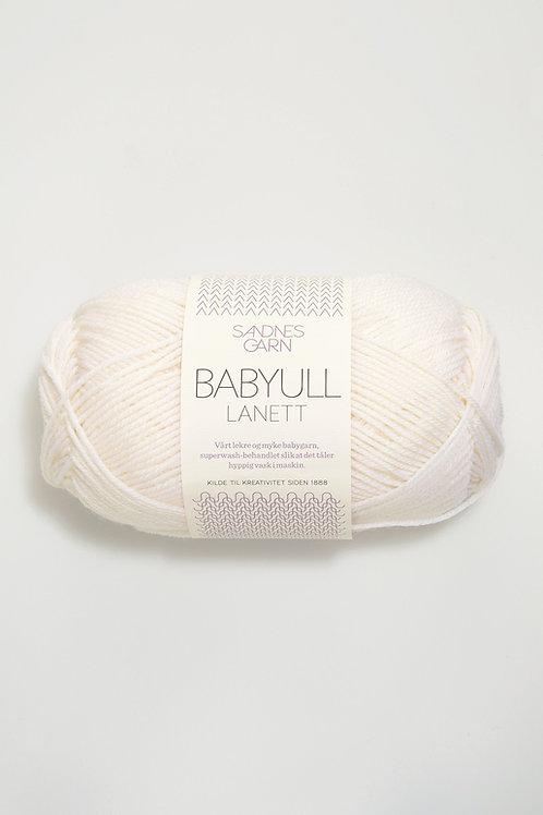 Babyull Lanett 1001 wollweiss