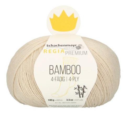 Bamboo 4-fädig 2 Natur