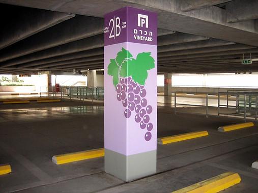 Ben Gurion Airport parking lot