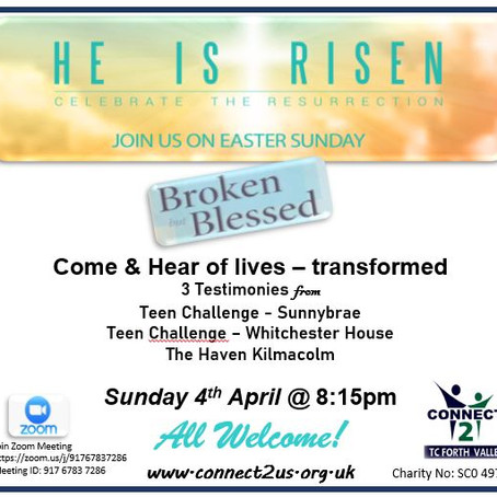 Join us on Easter Sunday - He is Risen!
