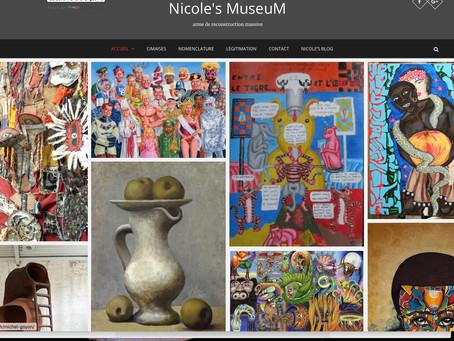 Nicole Esterolle... pour découvrir l'art vivant.