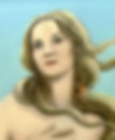 portrait, nkm, Vénus, Botticelli