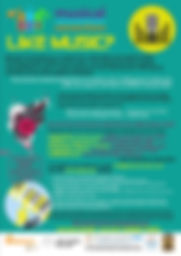 MC Hubs flyer for MC fundraiser all loca