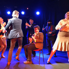 Review: The Game is Afoot at the Factory Theatre