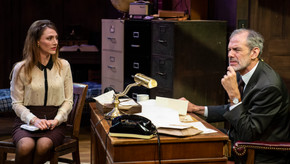 Review: Trying at at 1st Stage Theater in Tyson's Corner VA