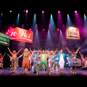 Review: Priscilla Queen of the Desert: The Musical at the Concourse Theatre