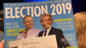 Review: The Chaser: War on the F*#king Election at the Canberra Theatre Centre