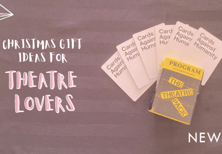 Blog: Christmas Gifts for Theatre Lovers