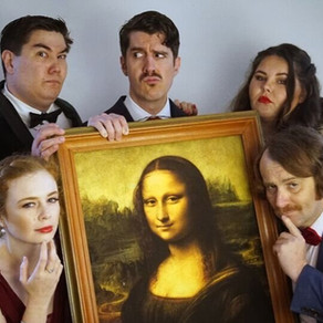 Review: The Mona Lisa Five at Pop Upstairs Theatre