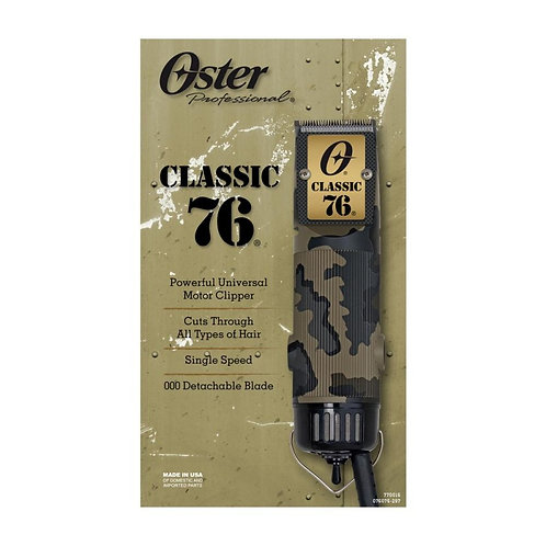 Oster 76 Camouflage Limited Edition Hair Clipper