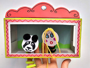 Example puppet theatre from Creators Clu