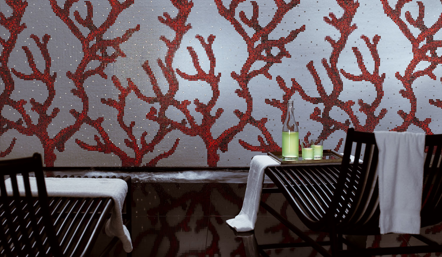 Wallcovering luxury mosaic