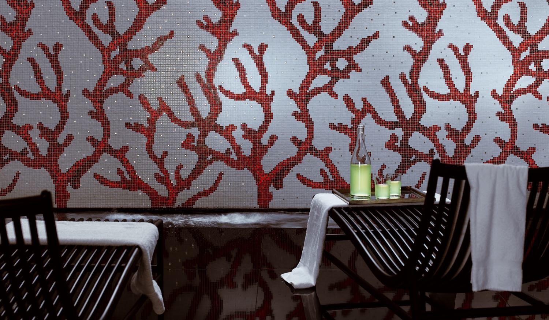 Wallcovering luxury mosaic