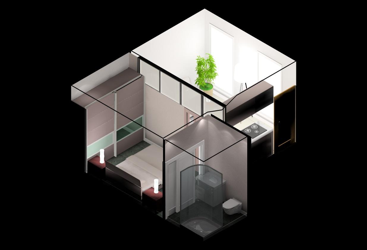 Architecte Interieur Paris Petite Surface aménager une petite surface: studio - chambre de bonnes