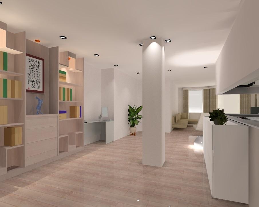 Appartement haussmannien modernisé
