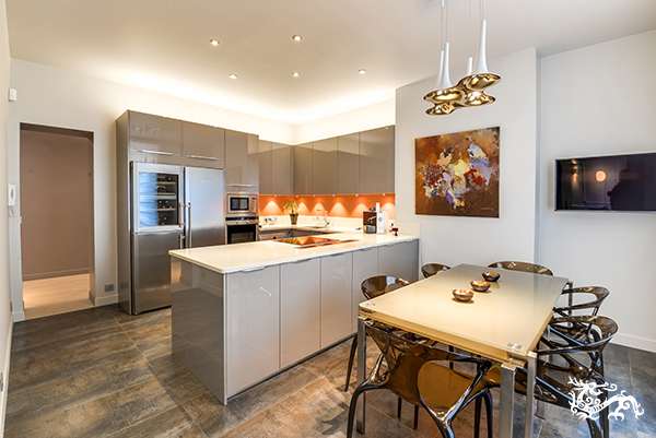 Une cuisine comme espace à vivre