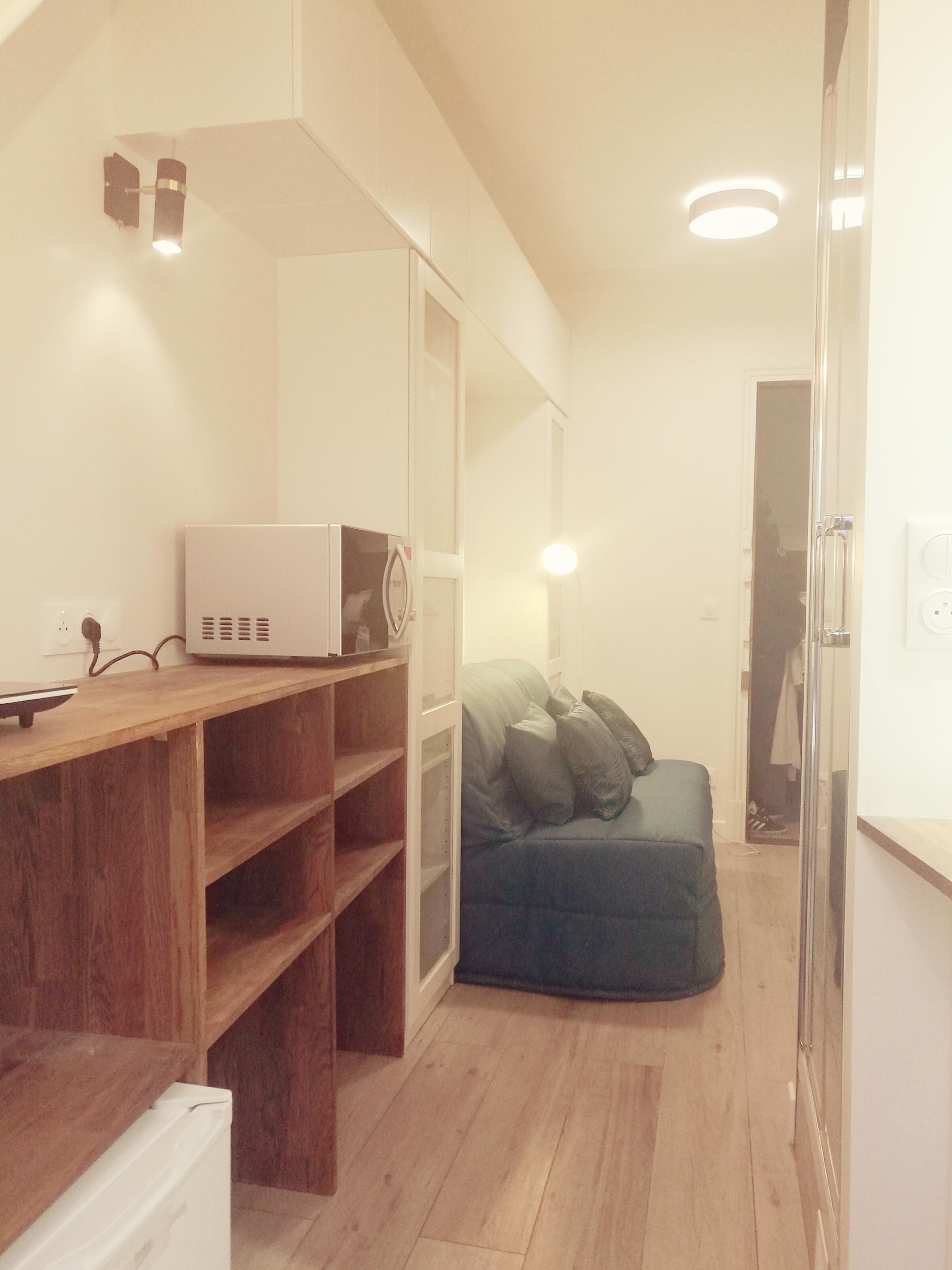Un studio tout confort
