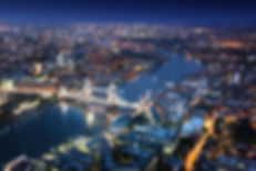 Romantic London by night