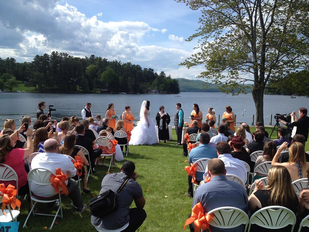 Lake George Adirondack Wedding