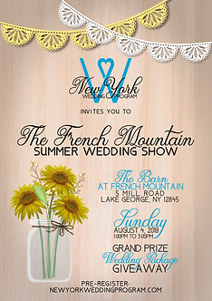 Upstate NY Wedding Show
