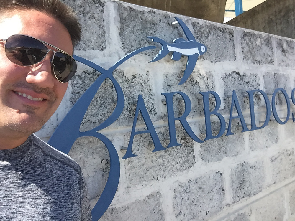 Mark in Barbados
