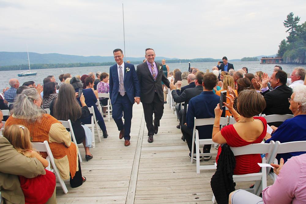 Adirondack Lake George Wedding