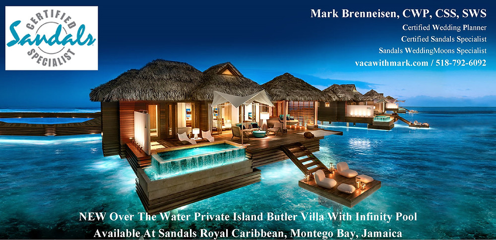 Over water suites