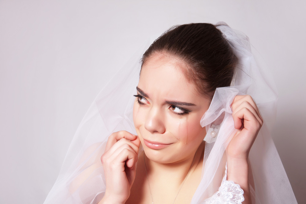 Sad bride :-(