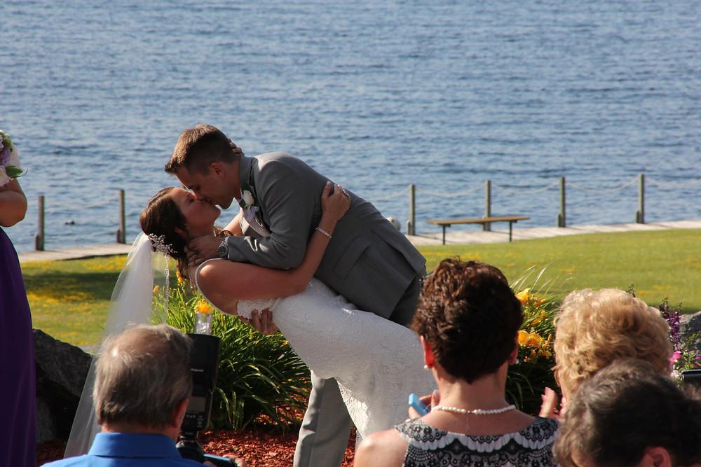 Dunham's Bay Wedding
