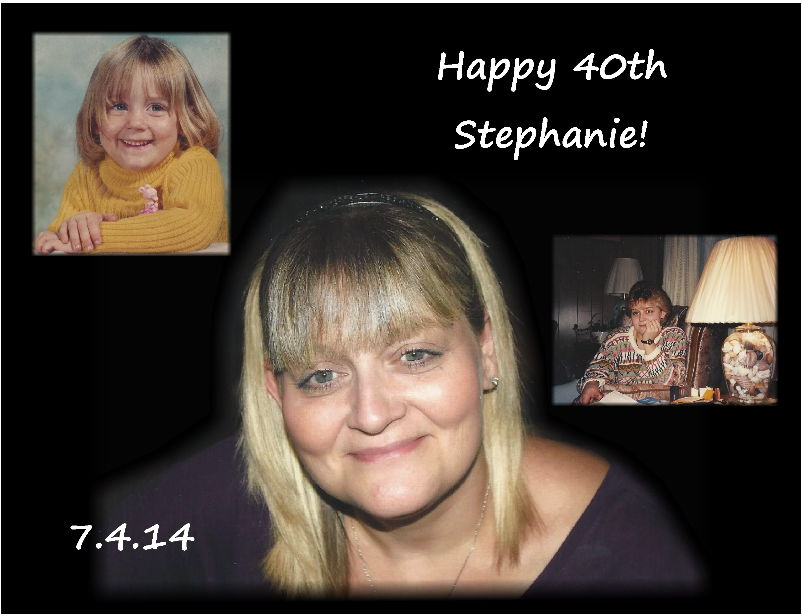 Stephanie 40th