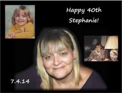 Stephanie 40th