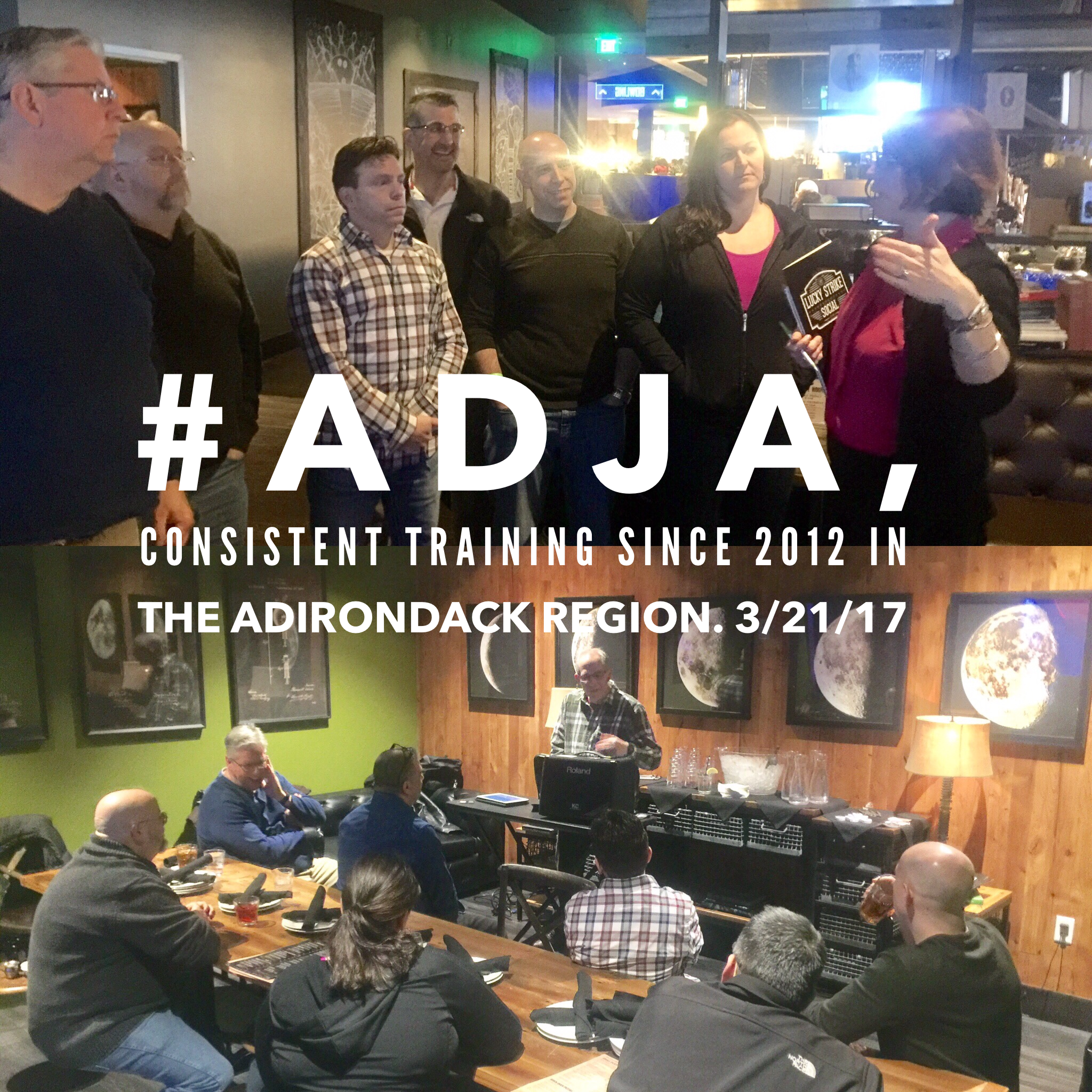 March 2017 DJ training