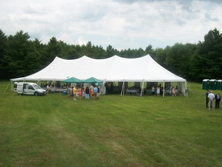 Advice for a tent wedding