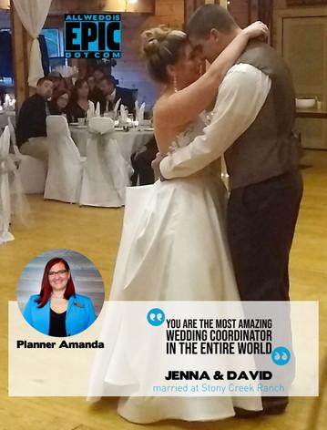 Testimonial - Jenna & David