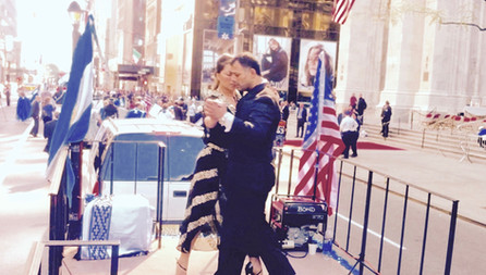 Hispanic Day Parade 2015                     Fifth Ave Manhathan New York.