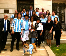 Commemorating the May Revolution of Argentina at the Embassy of Argentina in Washington DC