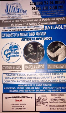 TANGO FOR HELP -  MAY 23th UDEA