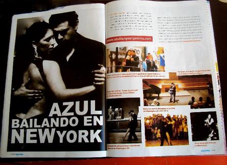 "Thanks ""Luján Deportivo"" Magazine!"