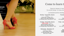 TANGO CLASSES 2015 - NEW YORK