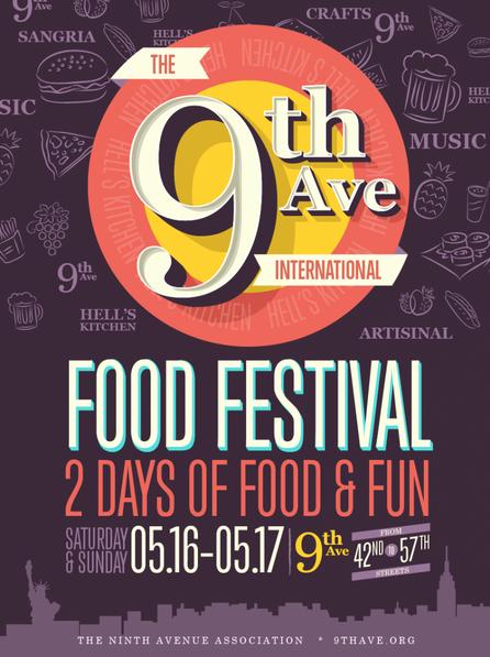 "TANGO AT THE ""NINTH AVE INTERNATIONAL FOOD FESTIVAL""- MANHATTAN 2015"