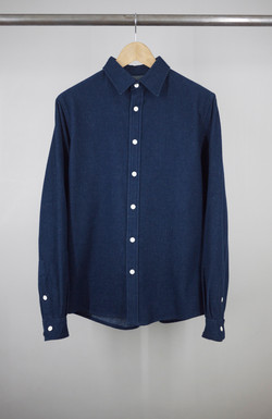 CLASSIC SHIRT BLUE JAPAN FLANNEL