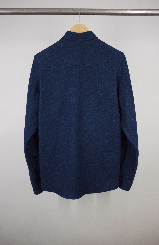 CLASSIC SHIRT BLUE JP FLANNEL BACK