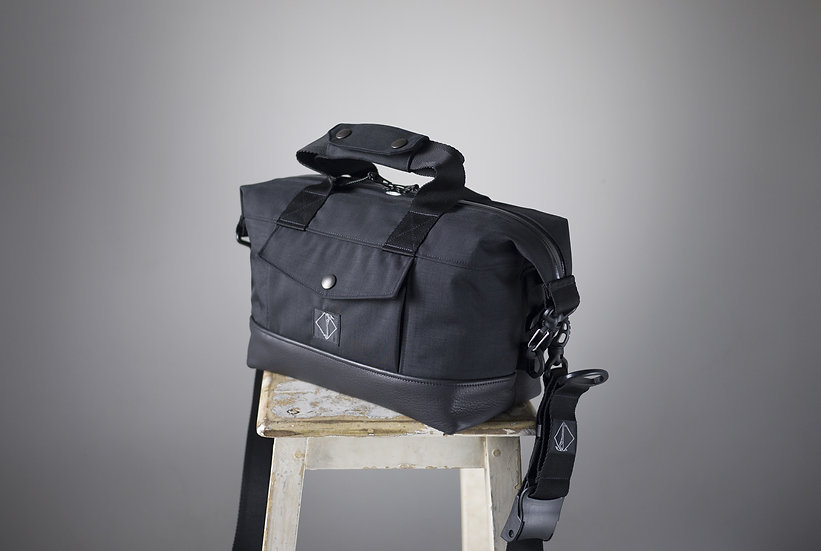 SMALL RIDER BAG CORDURA & LEATHER